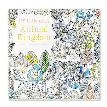 Animal Kingdom Coloring Book For Adult, Child Relieve Stress, Kill Time,
