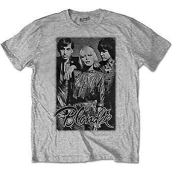 Blondie - Band Promo Men's Large T-Shirt - Grey
