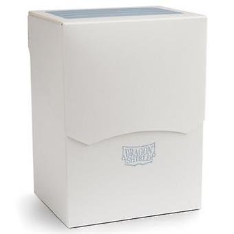 Dragon Shield kansi laatikko - Valkoinen