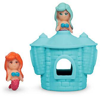 Stretchy Mermaid Castle Toy (1 color al azar)