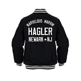 Sporting empire marvelous marvin hagler boxing legend jacket black/white