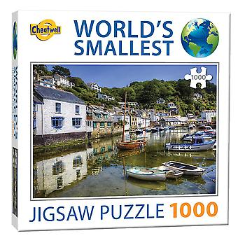 World's Smallest Jigsaw Puzzle - Polperro (1000 Pieces)