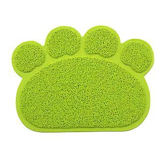 Claw-shaped cat litter mat