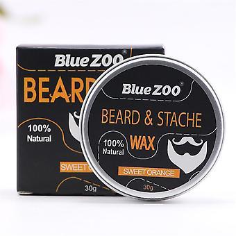 Baume de cire de soin naturel de barbe biologique