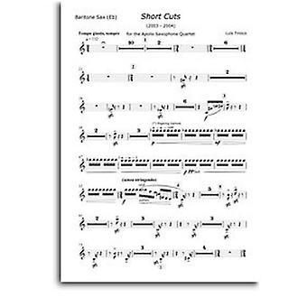 Lu¡s Tinoco: Short Cuts - Saxophonquartett (Teile) SAX(4) ***PRINTED TO ORDER***