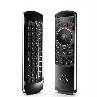3 in 1 i25 2.4G Mini Wirless Air Mouse Keyboard With IR Remote Control PC Teclado For Tablet Smart