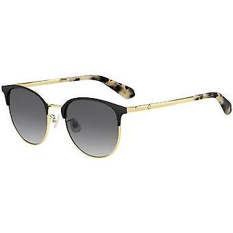 Kate Spade Delacey Óculos de Sol - Preto/Ouro