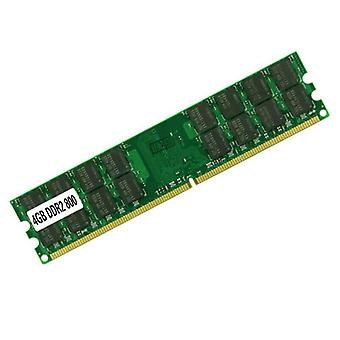 4 GB DDR2 800 MHZ 240-benet PC2-6400 1,8 V RAM-hukommelses-DIMM til stationær server
