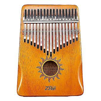 21 مفاتيح كاليمبا الإبهام البيانو الموسيقية هدية للأطفال أورانج