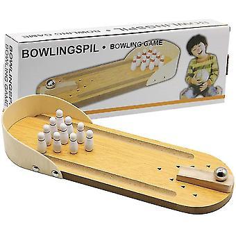 Mini bowling spel, bowling speelgoed klassieke bureau bal voor kinderen