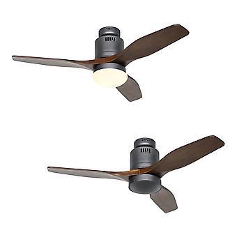 Ventilatore da soffitto DC Aerodynamix Eco 112 BG / Noce
