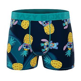 Crazy Boxers Disney Lilo ja Stitch Pineapples Miesten bokserit