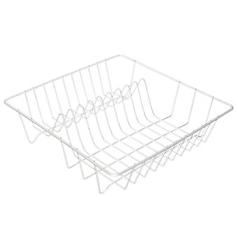 Metalen wastafel, Compact - Wit