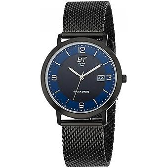 ONE (Eco Tech Time) Black Stainless Steel EGS-12077-32M Men's Watch