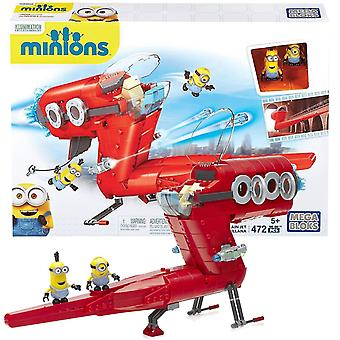 Puppets marionettes minions supervillain jet