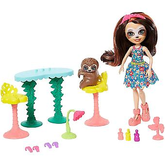 Bobblehead figures gfn54 slow-down salon nail and spa playset fcc62
