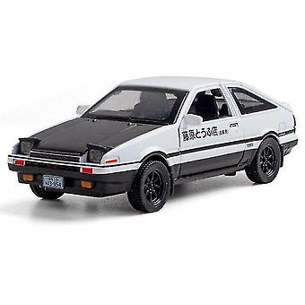 Toy cars 1:32 ae86 model car die cast alloy boys toys cars pull back collectibles kids car model