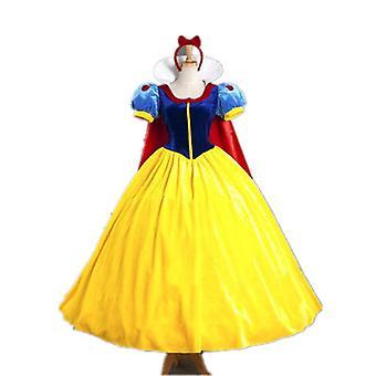 المرأة الأميرة Cosplay فستان زي عيد الميلاد مع عقال