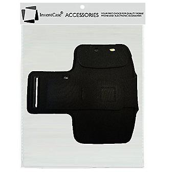 InventCase Gym Sports Armband Sleeve Pouch - Black (Size: 5.5