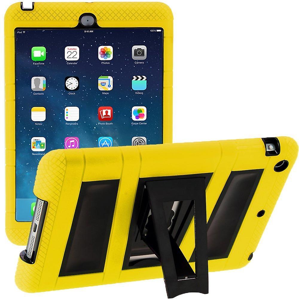 i-Blasonierung Apple iPad Mini mit Retina Display Armorbox 2 Gehäuse, Apple Mini eingebaute Screen Protector-gelb/schwarz