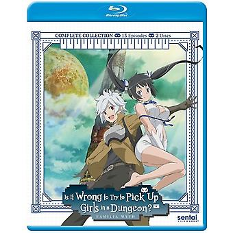 Is It Wrong to Pick Up Girls in a Dungeon [Blu-ray] USA import