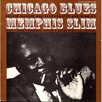 Memphis Slim - Chicago Blues: Boogie Woogie & Blues pelasi & Sung [CD] USA tuonti