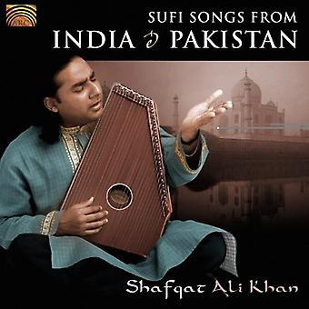 Shafqat Ali Khan - Sufi Songs From India & Pakistan [CD] USA import