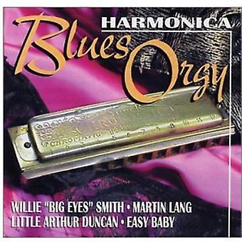Smith/Lang/Duncan/Easy Baby - Harmonica Blues Orgy [CD] USA import