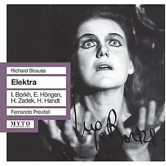 Strauss, R. / Borkh - Elektra: Borkh-Hongen-Zadek [CD] USA import