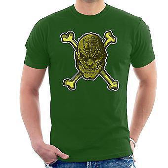 Croc Bones Supervillain Men's T-Shirt