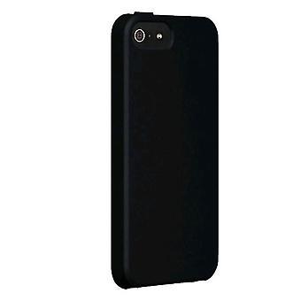 Verizon custodia in Silicone per Apple iPhone 5, 5S, SE - nero