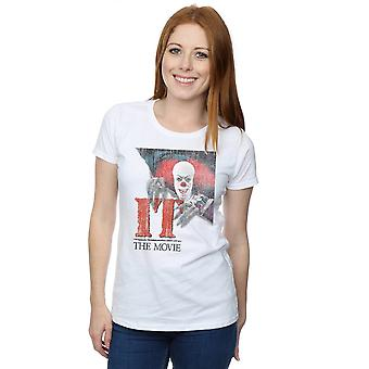 It (1990) Women's Distressed Poster T-Shirt