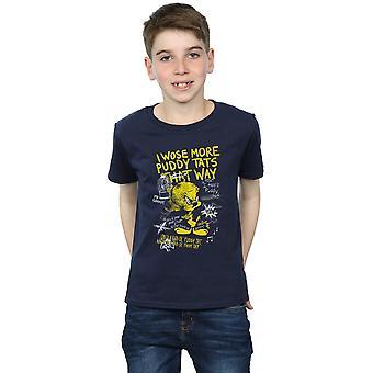 Looney Tunes Boys Tweety Pie More Puddy Tats T-Shirt