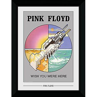 Pink Floyd önskar du var här Collector Print 50x70cm