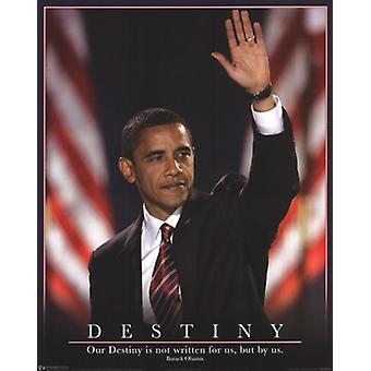 Obama - destino cartel Poster Print