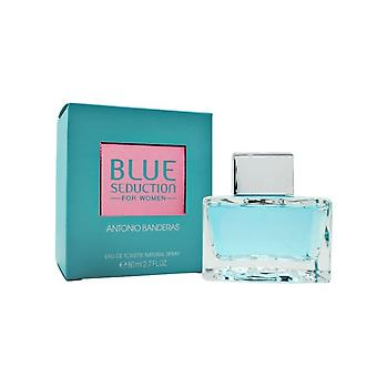 Antonio Banderas Blue Seduction For Women Eau De Toilette