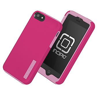 5 Pack -Incipio DualPro Shock-absorbing Case for iPhone 5/5S/SE - Pink/Pink
