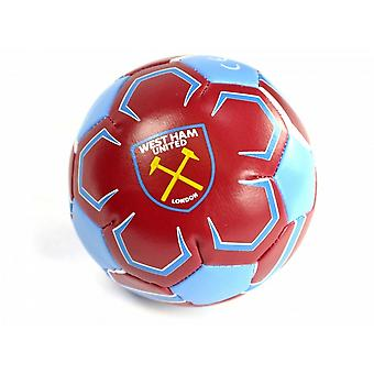 West Ham FC officiel 4 pouces Mini Football doux