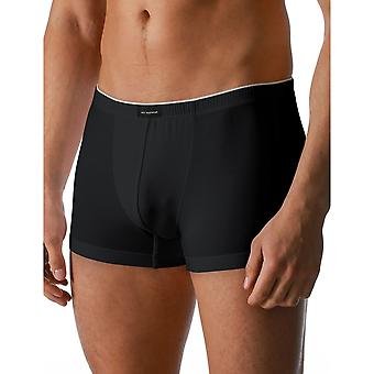 Mey 46021-123 Men's Dry Cotton Black Solid Colour Fitted Boxer