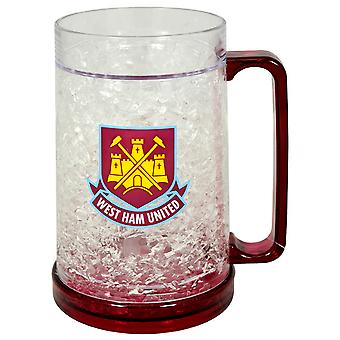 West Ham FC Official Football Club Crest Freezer Mug