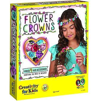 Creativity For Kids - couronnes de fleurs