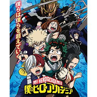 My Hero Academia Season 2 Mini Poster