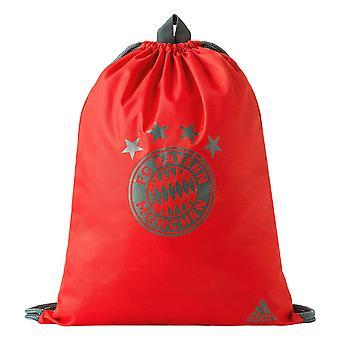 2018-2019 Bayern Monachium Adidas siłownia torba (czerwony)