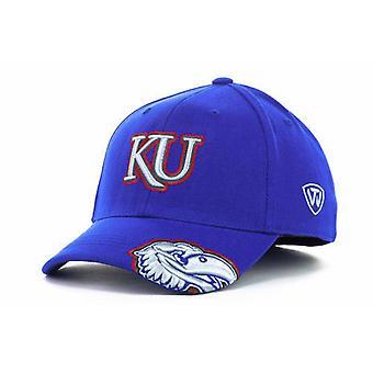 "Kansas Jayhawks NCAA rebocar ""All Access"" estiramento chapéu cabido"