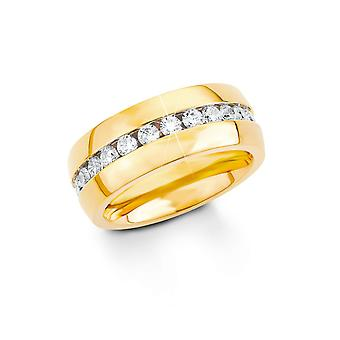 s.Oliver juvel damer ring sølv rustfrit stål cubic zirconia SO1339
