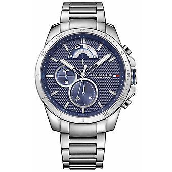 Tommy Hilfiger Decker | Stainless Steel Bracelet | Blue Dial 1791348 Watch