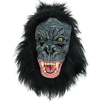 Gorille masque singe plein masque LaTeX Halloween