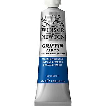 Winsor & Newton Griffin Alkyd 37ml de tinta de óleo de secagem rápida