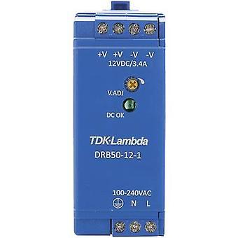 TDK-Lambda DRB-50-12-1 Schienennetzteil (DIN) 12 V DC 4.2 A 50.4 W 1 x