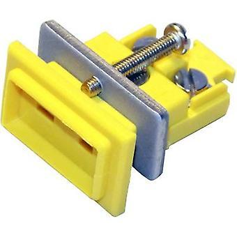 B & B Thermo-Technik miniatyyri liitin K-tyyppi, keltainen NiCrNi